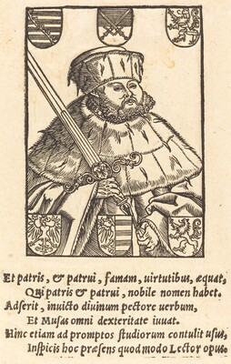 John Frederic the Magnanimous, in Electoral Robes [left]