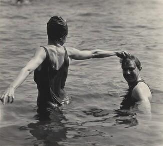 image: Georgia O'Keeffe and Waldo Frank