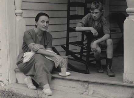 Georgia O'Keeffe and Frank Prosser