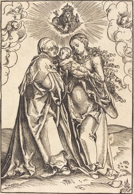 Saint Anne and the Virgin with the Child
