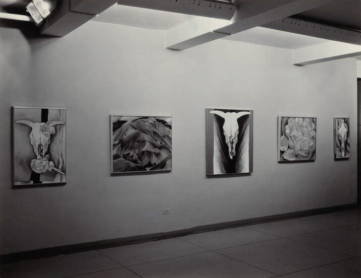 Georgia O'Keeffe—Exhibition at An American Place