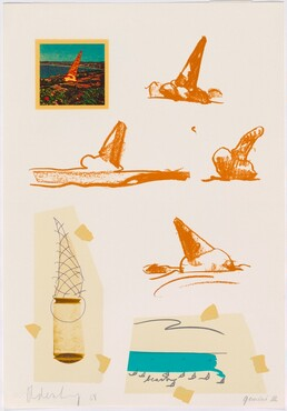 Claes Oldenburg, Untitled (Ice Cream Cones), 1968