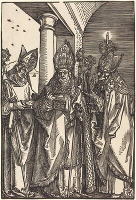 Saints Nicholas, Ulrich and Erasmus