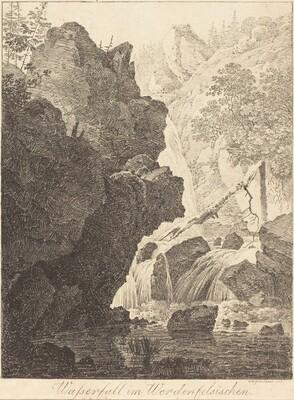 The Waterfall (Wasserfall im Werdenfelsischen)