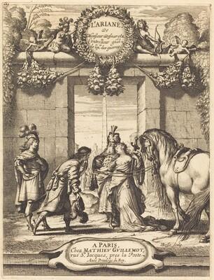Title Page to Jean Desmarets' L'Ariane