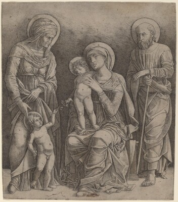 Holy Family with Saint Elizabeth and the Infant Saint John