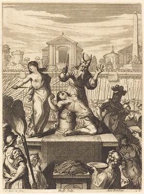 Illustration to Jean Desmarets' L'Ariane