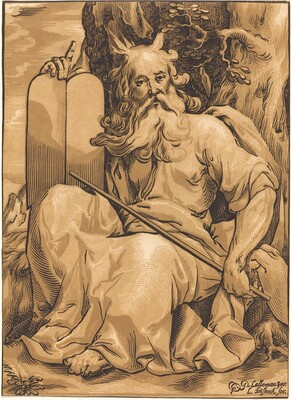 Moses with the Tablets of Law