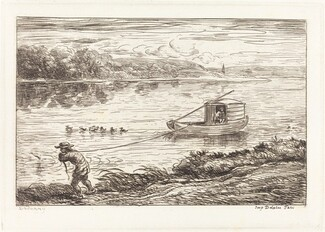 Cabin Boy Pulling the Rope (Le Mousse tirant le cordeau)
