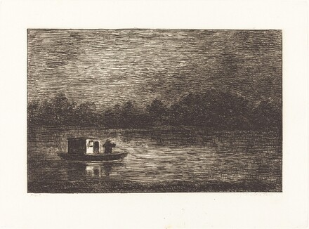 Night Journey, 2nd Plate (Voyage de nuit)