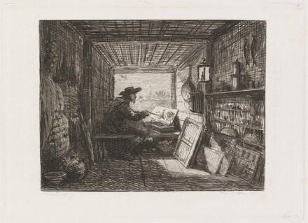 Studio on the Boat (Le Bateau-atelier)