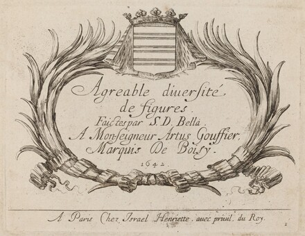 Title Page for Agreable diversite de figures
