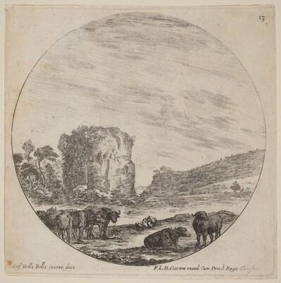 Landscape with Antique Ruins