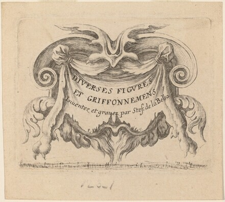Title Page for Diverses figures et griffonnements