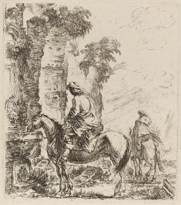 Landscape with Horsemen