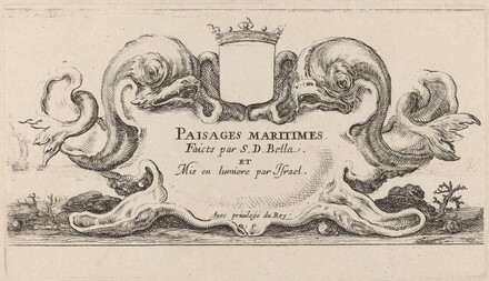 Title Page for Paysages maritimes