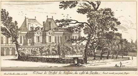 Veue de l'Hostel de Soissons