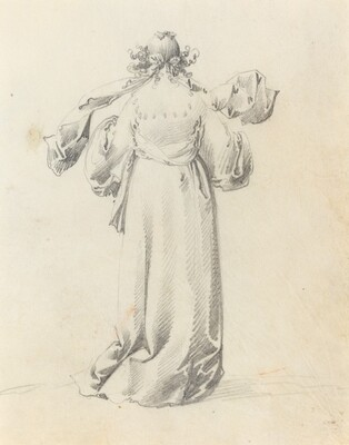 Lady Seen from Behind