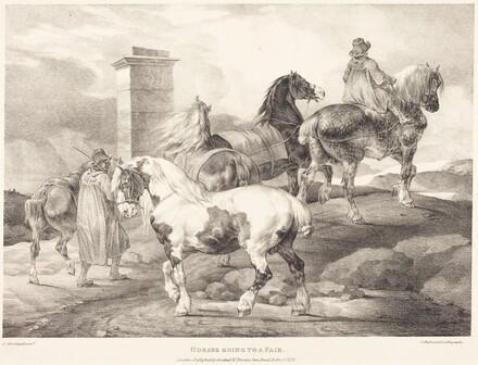 Horses Going to a Fair