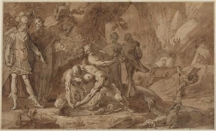 Odysseus and Teiresias