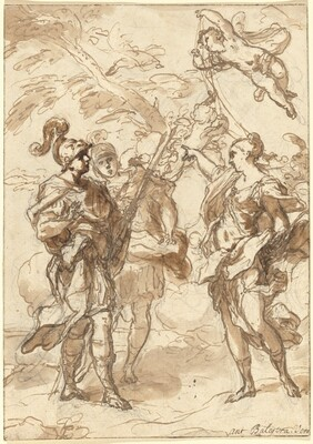 Venus as a Huntress Appearing to Aeneas and Achates