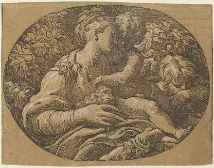 The Virgin with the Rose