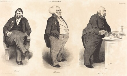 Comte Portalis - Duc de Bassano - Comte de Montlosier