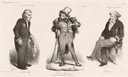 Huguet de Sémonville - Robert Macaire (Thiers) - Comte Roederer