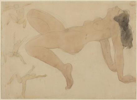 Studies of Nude Dancers