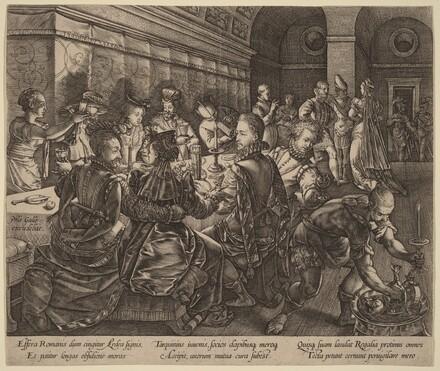 Banquet at the House of Tarquinius Collatinus