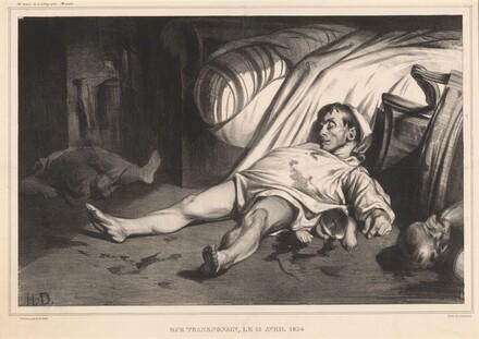 Rue Transnonain, le 15 avril 1834
