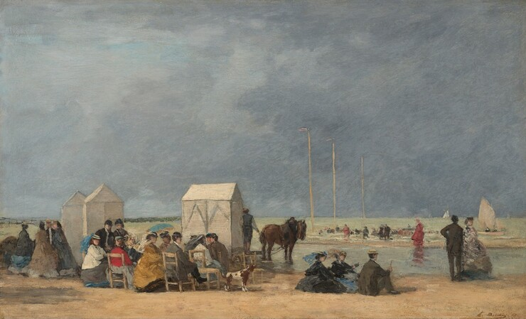Boudin, twenty years older than most of the impressionists, was among the  few artists of his generation to insist on painting in the open air, ... - The Beginnings Of Impressionist Landscape