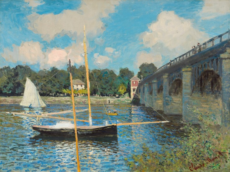 Adresse Fine Art French Impressionist POSTER Claude Monet Terrace at St