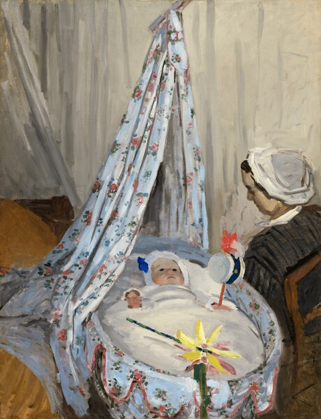 The Cradle - Camille with the Artist's Son Jean