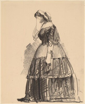Lady of 1860 - The Actress