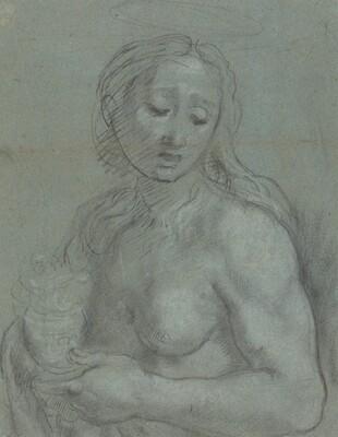 Half-Length of Mary Magdalene [verso]
