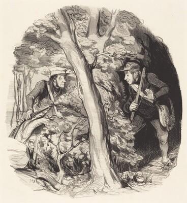 La Rencontre sous bois