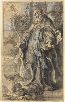 Saint Ambrose Suppressing Heresy