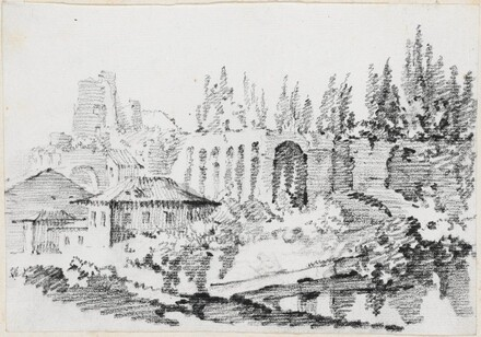 Ruins of the Imperial Palaces on the Palatine Hill