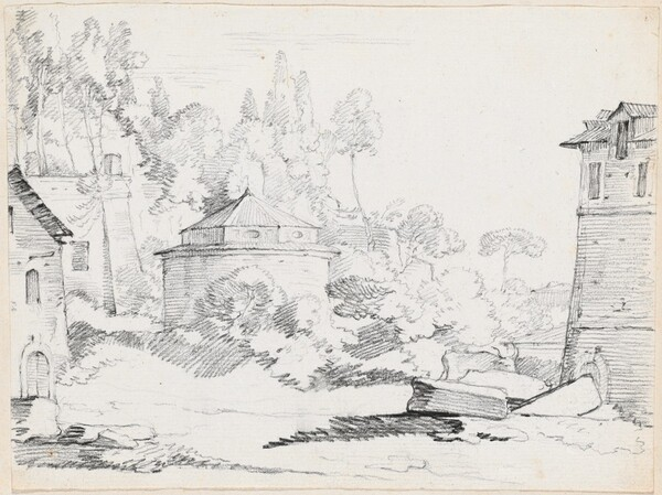 Landscape with the Church of San Teodoro