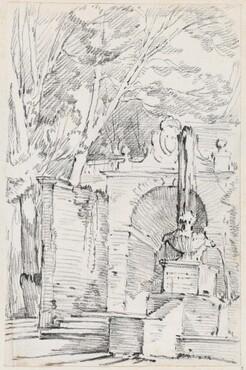Fountain of Pomona in the Gardens of the Villa d'Este, Tivoli