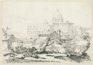 Saint Peter's Basilica and the Papal Palace