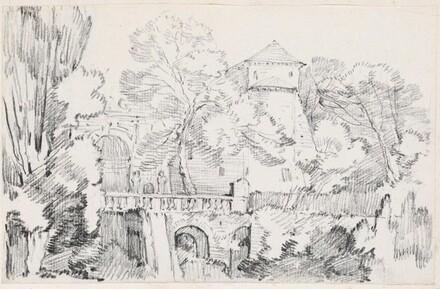 The Water Organ in the Gardens of the Villa d'Este, Tivoli
