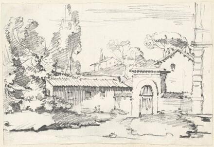 Entrance to the Gardens of the Villa Giulia