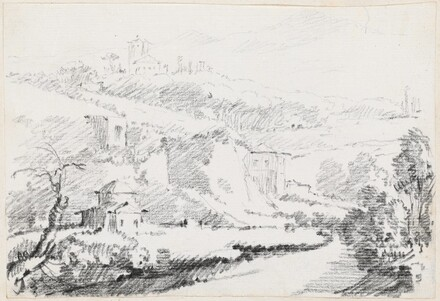 Landscape in the Alban Hills
