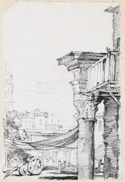 A Balcony in the Roman Forum