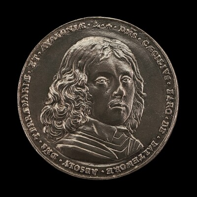 The Maryland Medal: Cecil Calvert, 1605-1675, 2nd Baron of Baltimore 1632, 1st Lord Proprietary of Maryland and Avalon [obverse]