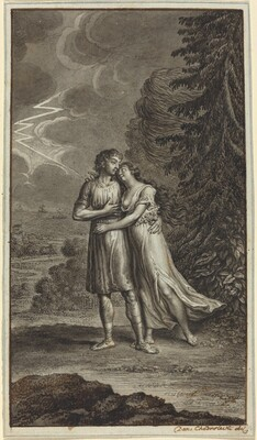 Lovers in a Thunderstorm