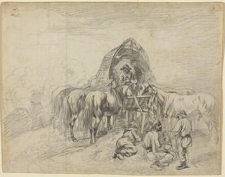 Wallachian Wagoners Resting