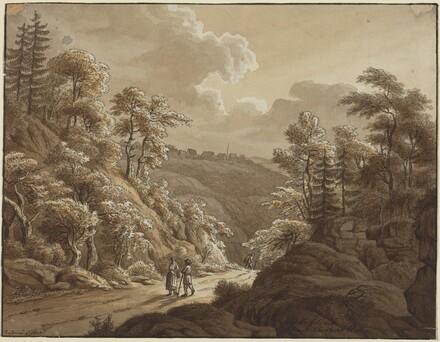 Road through the Woods near Kresselbach